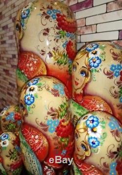Russian matryoshka doll nesting babushka beauty Tales handmade exclusive