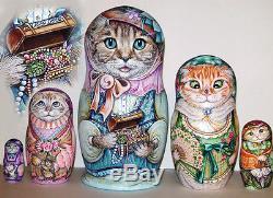Russian matryoshka doll nesting babushka beauty ats handmade exclusive
