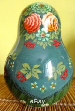 Russian matryoshka tumbler doll babushka beauty handmade exclusive