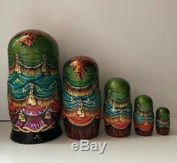 Swan Lake ballet inspired Matryoshka, Babushka, Russian Nesting dolls