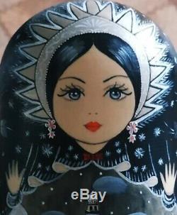The nesting doll, matryoshka