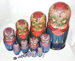 Unique Russian Nesting Doll, Matrioshka, Matryoshka- Russian Folk Dance