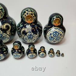 Vintage Russian Nesting Doll
